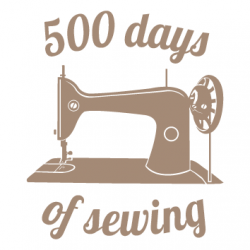 500 days of sewing -
