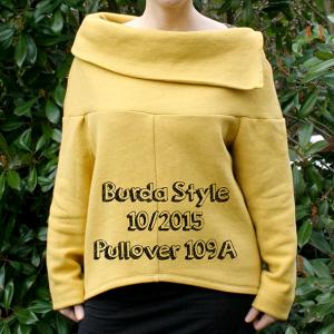 500 days of sewing: Burda Pullover