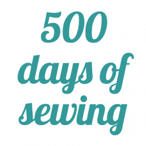 500 days of sewing - Rückblick