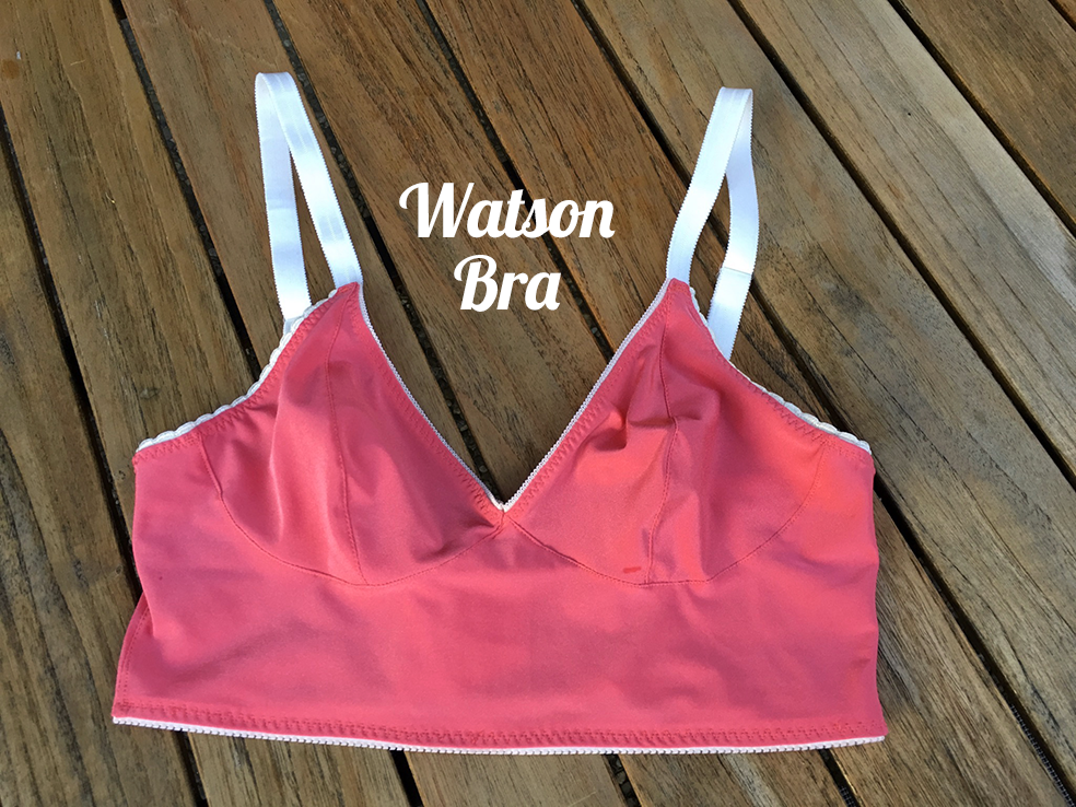Watson Bra von Cloth Habit #2 (Melone) | 500 days of sewing
