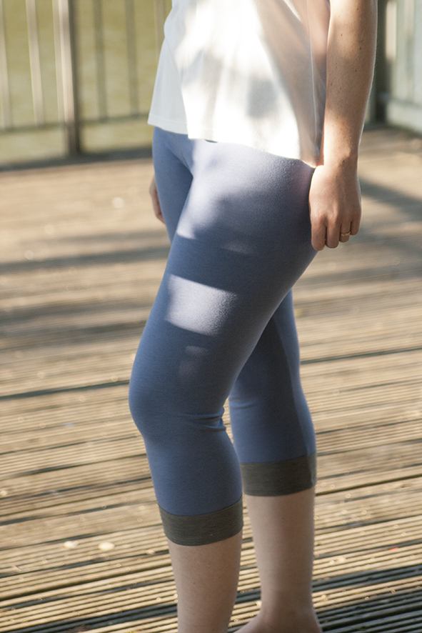 Sport Style: Yoga-Leggings | 500 days of sewing