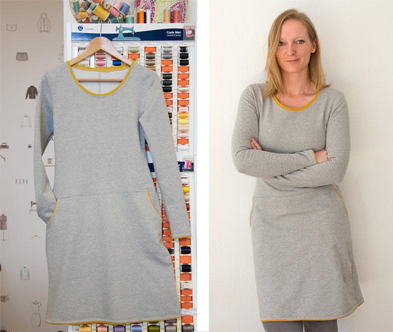 Sweatshirtkleid Frau Fannie
