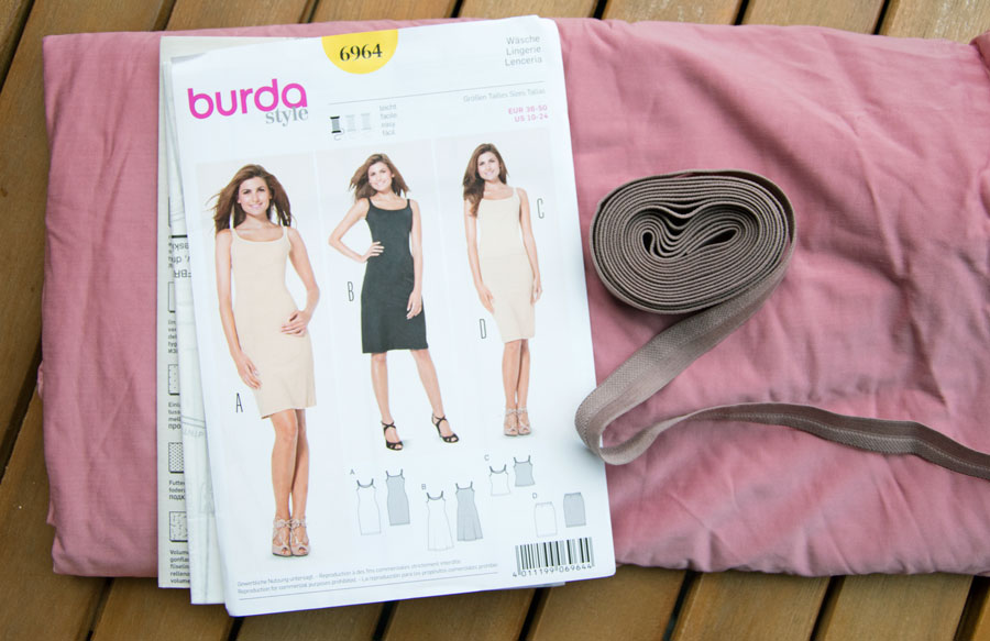 Unterkleid Burda 6964