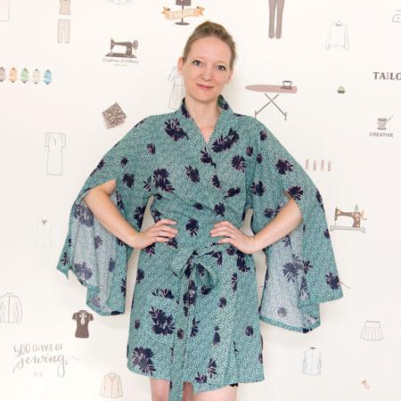 Asaka Kimono von Named | 500 days of sewing