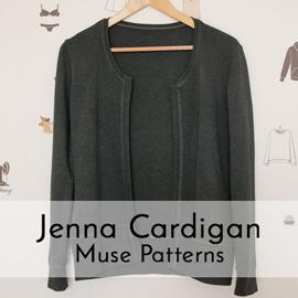 Jenna Cardigan grau