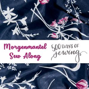 Morgenmantel Sew Along