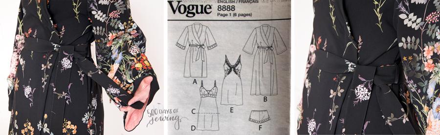 Vogue 8888 Morgenmantel